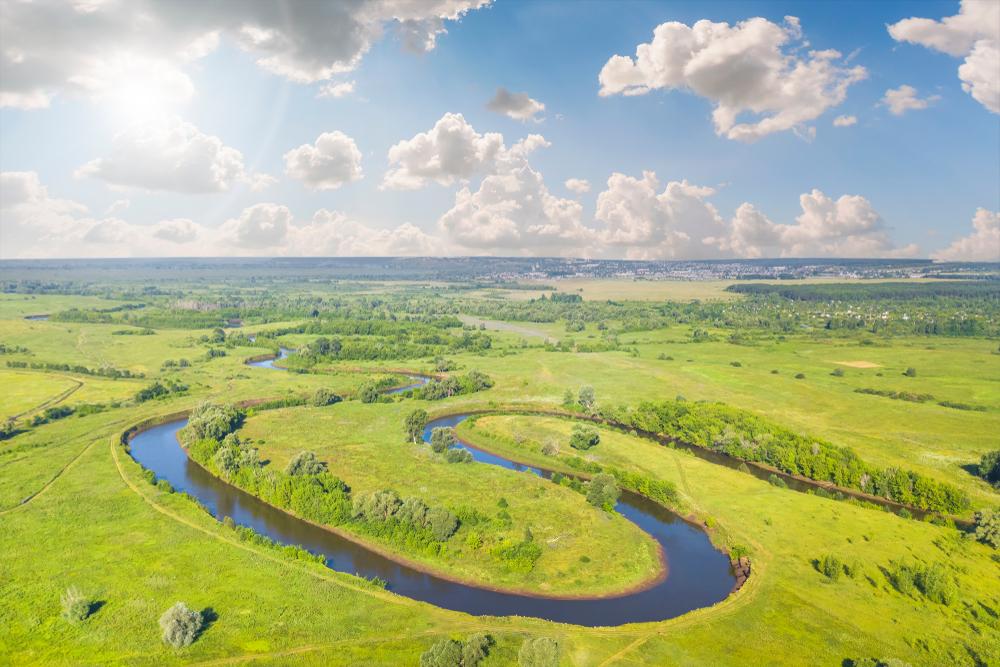 Fluss Naturnah